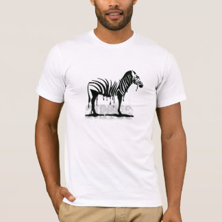 Fusion de zèbre t-shirt