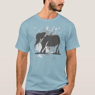Fusion d'éléphant t-shirt