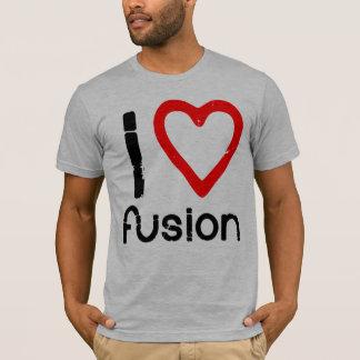 Fusion du coeur I (de ROUGE) T-shirt