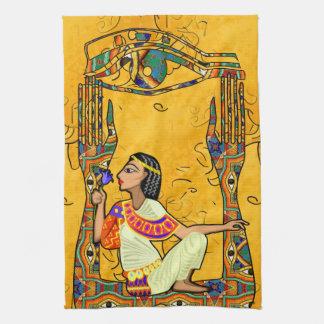 Fusion égyptienne linges de cuisine