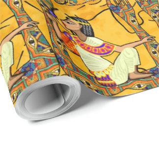 Fusion égyptienne papier cadeau