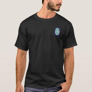 Fusion froide brassant T bilatéral T-shirt