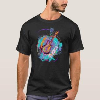 Fusion-Musique de guitare avec sentiment T-shirt