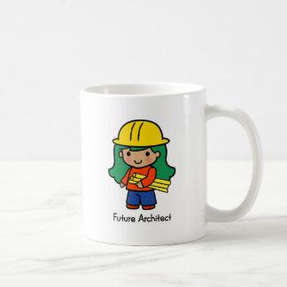Futur architecte - fille mug