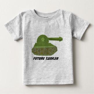 Futur bateau-citerne t-shirt pour bébé
