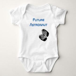 Futur bébé Bootprints d'astronaute Body