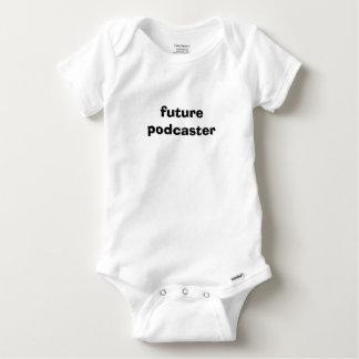 Futur bébé de Podcaster Body