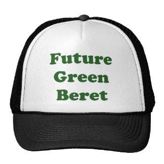 Futur béret vert casquettes