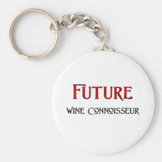 Futur connaisseur de vin porte-clé