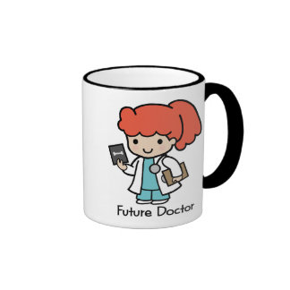 Futur docteur - fille mug ringer