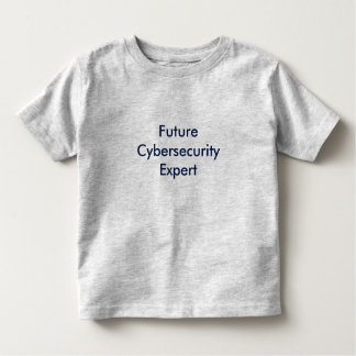 Futur expert en matière de Cyber T-shirt Pour Les Tous Petits