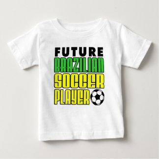 Futur footballeur brésilien t-shirt pour bébé