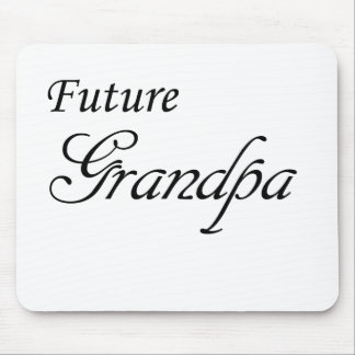Futur grand-papa tapis de souris