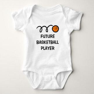 Futur habillement mignon de bébé du joueur de body