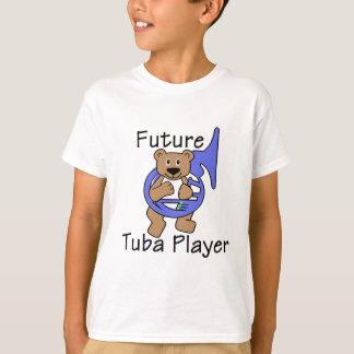 Futur ours de joueur de tuba t-shirt