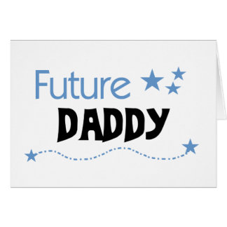 Futur papa carte de vœux