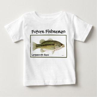 Futur pêcheur t-shirt pour bébé