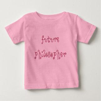 futur philosophe t-shirt pour bébé