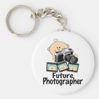 Futur photographe porte-clé rond