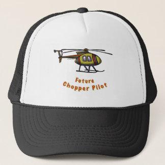 Futur pilote d'hélicoptère casquette