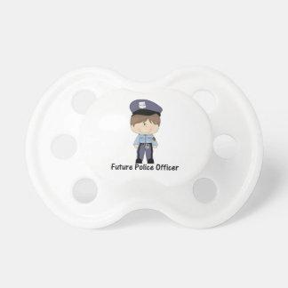futur policier (garçon) tétine pour bébé