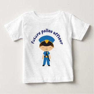 Futur policier t-shirt pour bébé