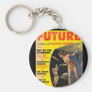 Futur _Pulp (de série 2) v02 n01 Porte-clé Rond