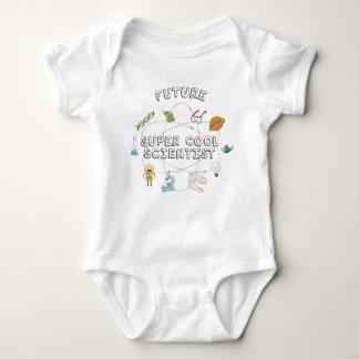 Futur scientifique frais superbe pour le bébé body