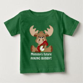 Futur T-shirt d'ami du randonnée de la maman