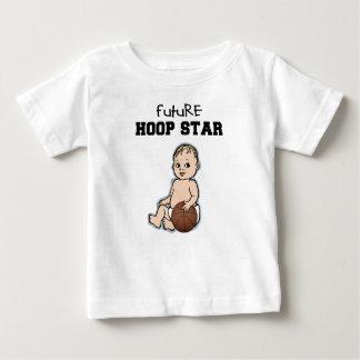 Futur T-shirt de basket-ball de bébé d'étoile de