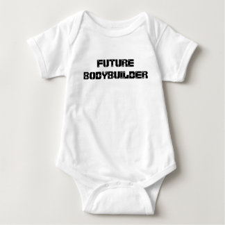 Futur T-shirt de bébé de culturiste