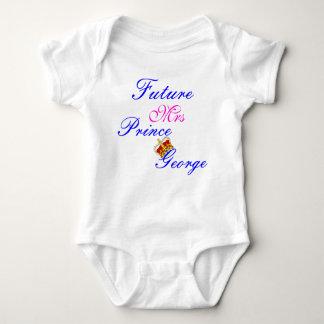futur T-shirt de Mme prince Georges baby