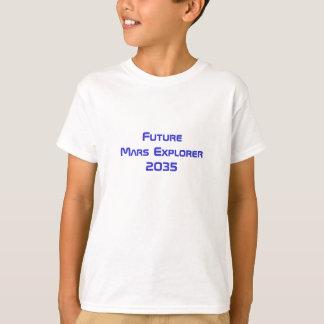 Futur T-shirt de voyage dans l'espace
