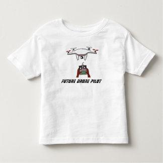 Futur T-shirt d'enfant en bas âge de pilote de