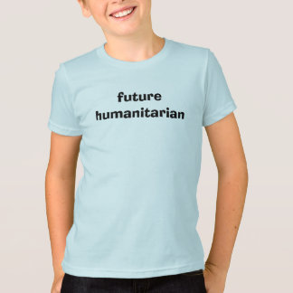 Futur T-shirt humanitaire pour des enfants