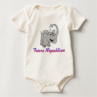 Futur T-shirt républicain de plante grimpante