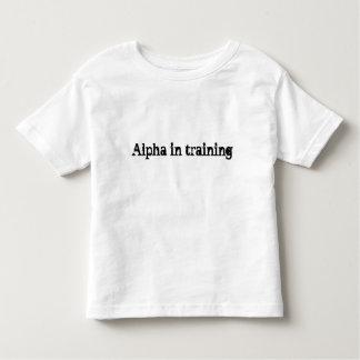 Future alpha chemise d'enfant en bas âge t-shirt pour les tous petits