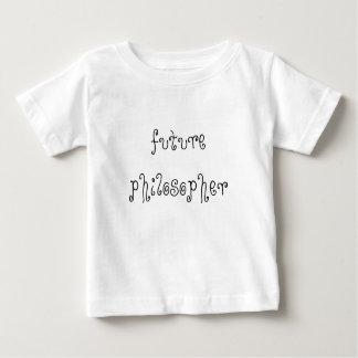 Future chemise de nourrisson de philosophe t-shirt pour bébé