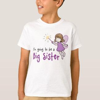 Future fée de grande soeur t-shirt