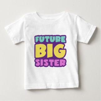 Future grande soeur t-shirt pour bébé