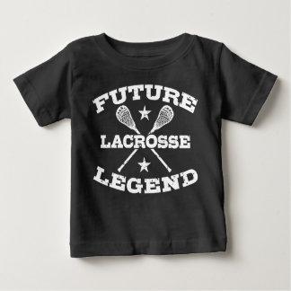 Future légende de lacrosse t-shirt pour bébé