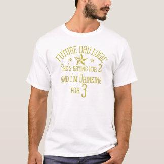 future logique de papas t-shirt