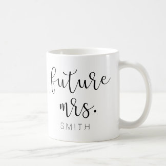 Future Mme tasse de café