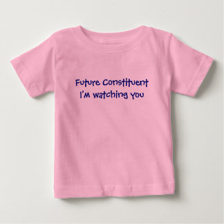 Future pièce en t constitutive de bébé t-shirt pour bébé