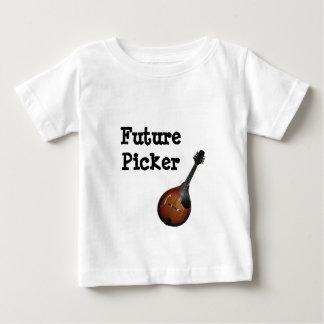 Future pièce en t de récolteuse de mandoline t-shirt pour bébé