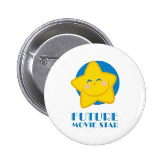 Future star de cinéma badges