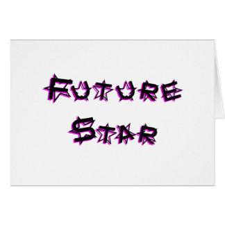 future_star_pink carte de vœux