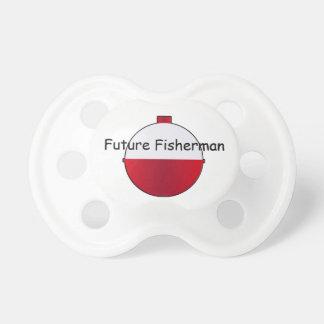 Future tétine de nourrisson de pêcheur