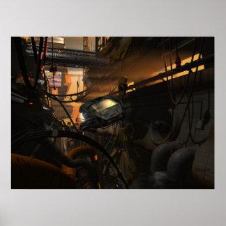 Futurs bandits - affiche de Cyberpunk