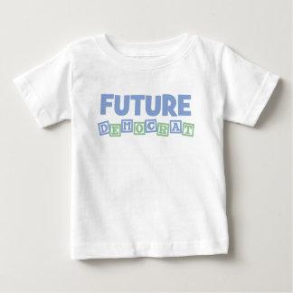 Futurs blocs de Démocrate T-shirt Pour Bébé